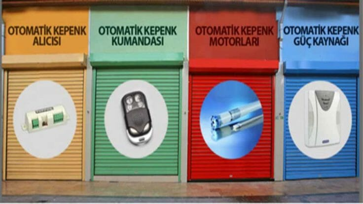 Mağaza Kepenk Tamiri